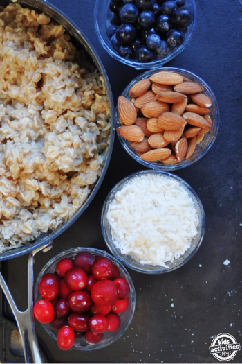 50 ways to add variety to your oatmeal