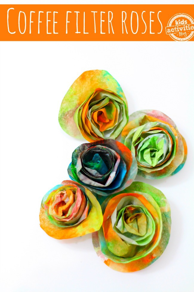 Easy peasy roses ~ these are so fun to make!