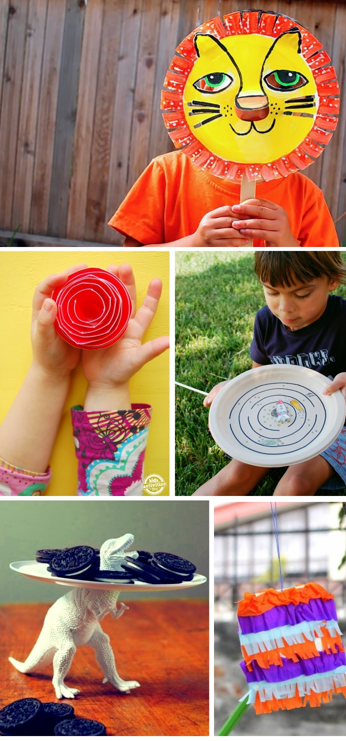 Crazy things you can make with paper plates