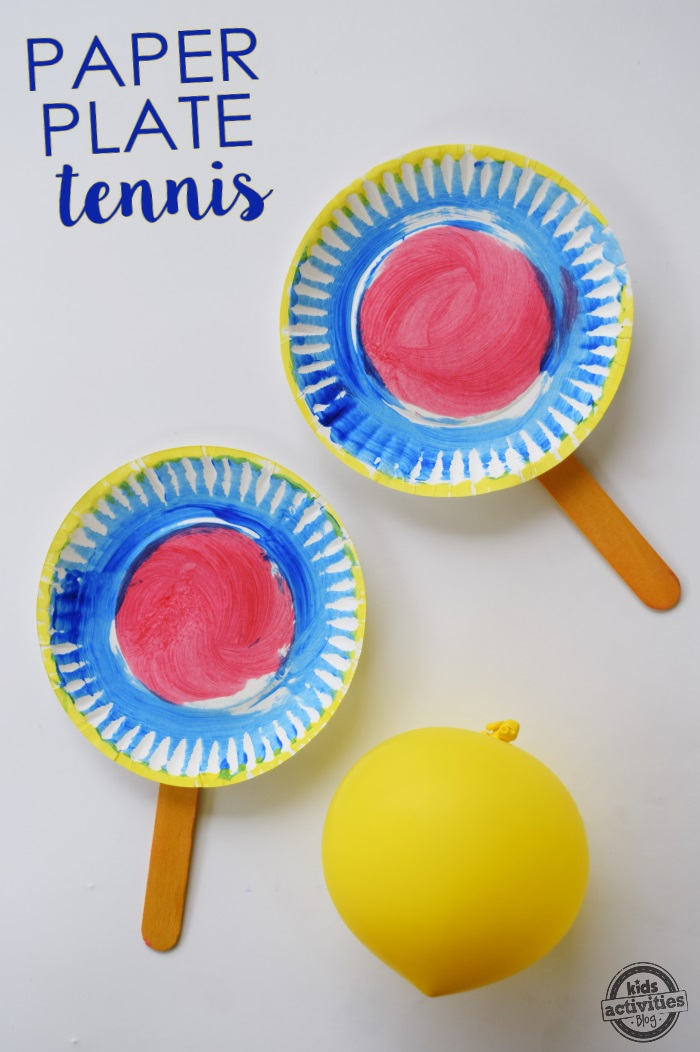 Paper Plate Tennis