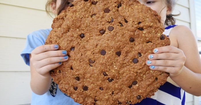 Bigger is Better - Giant Chocolate Chip Cookies