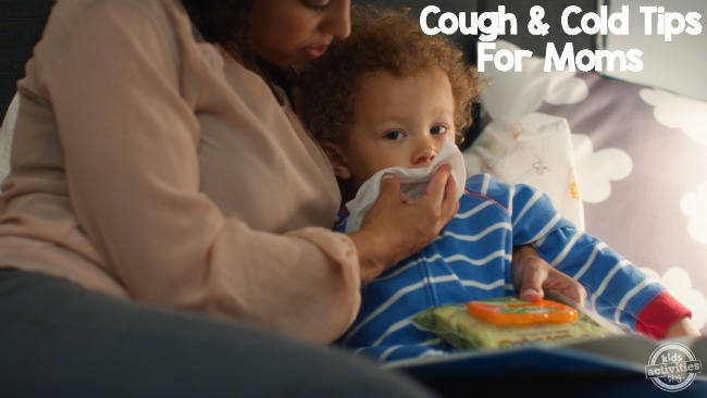 cough and cold tips for moms