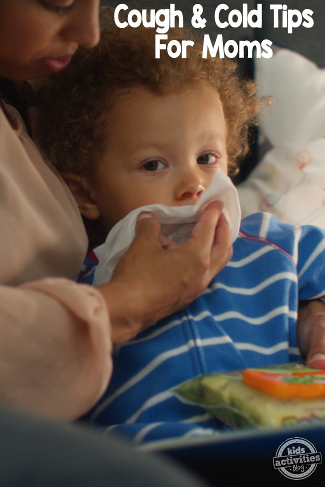 cough & cold tips for moms