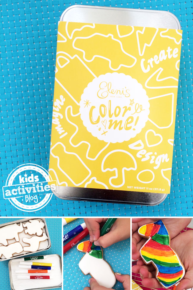 Color Me Cookies from Elenis New York