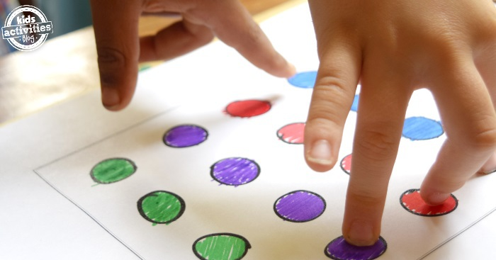 finger twister printable