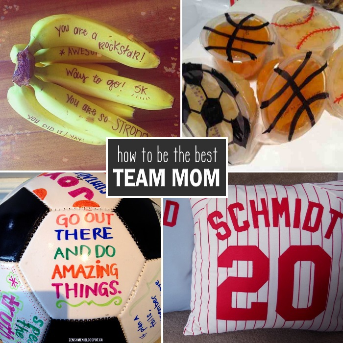 how to be a team mom