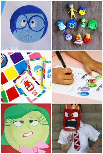 21 Inside Out Inspired Crafts & Activities