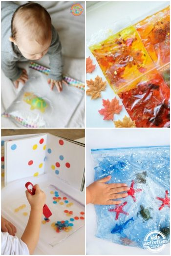 20 Awesome DIY Sensory Bags For Toddlers That They Will love