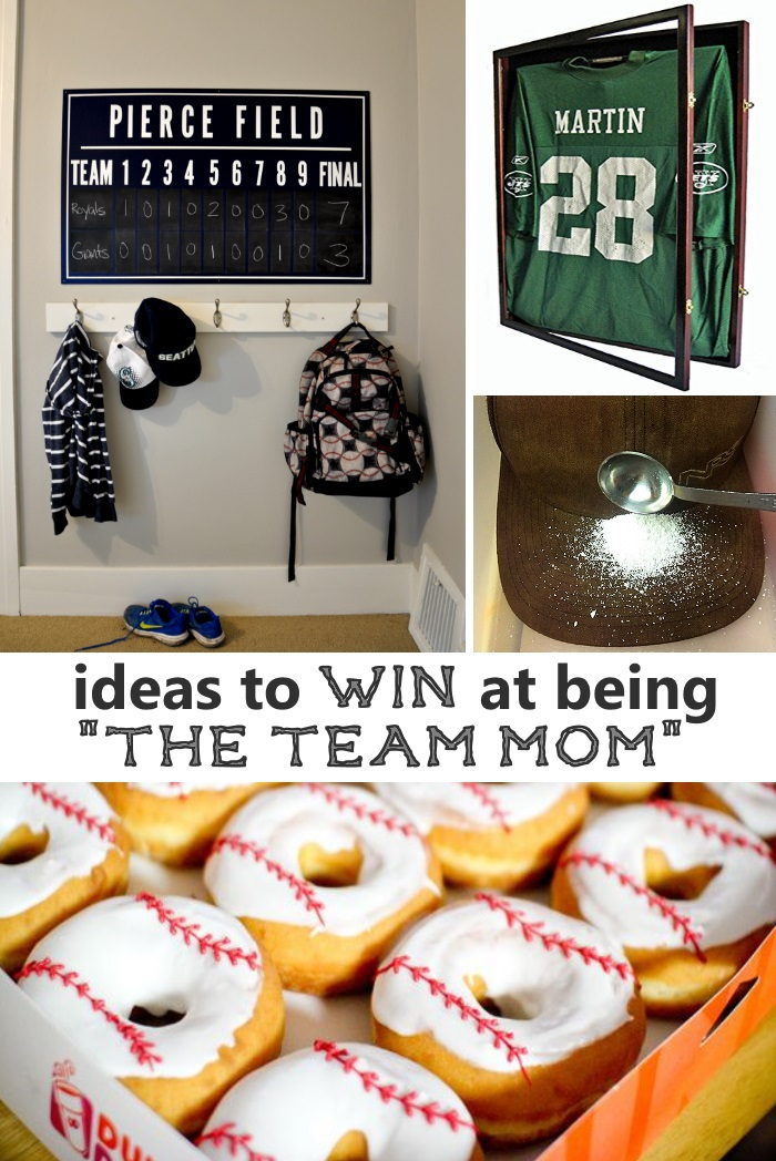 sports equipment organization ideas
