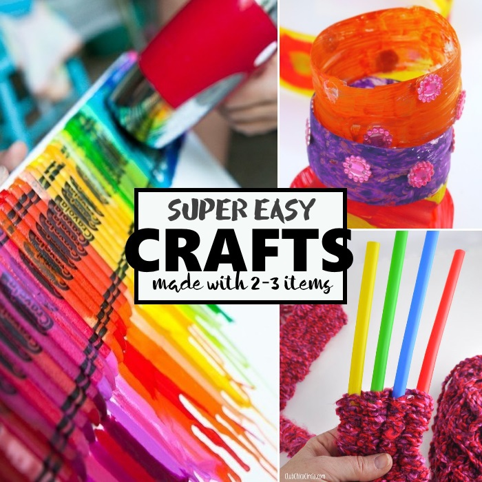super easy crafts
