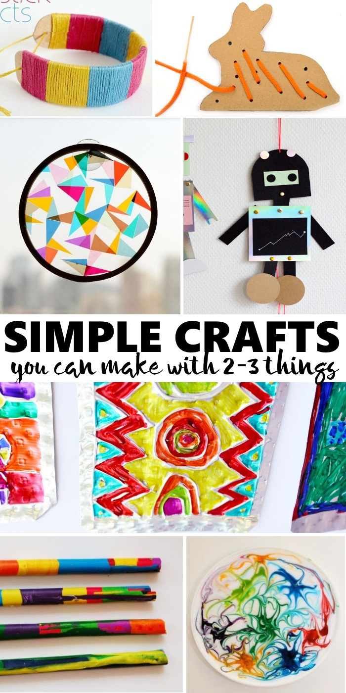 super simple crafts