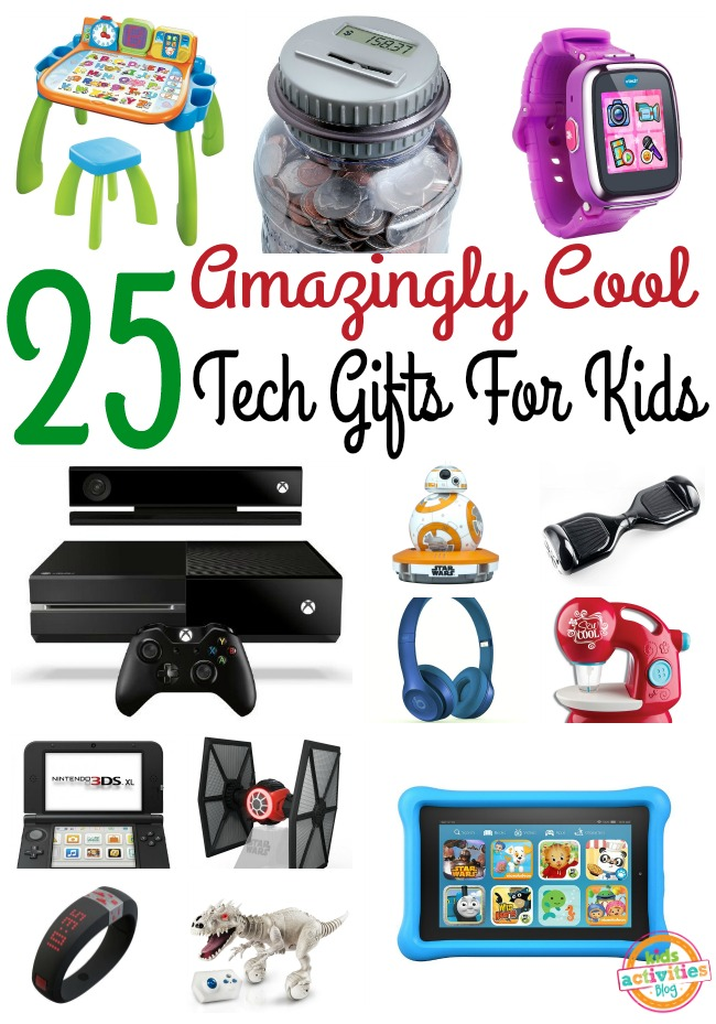 25 Amazingly Cool Tech Gifts for Kids