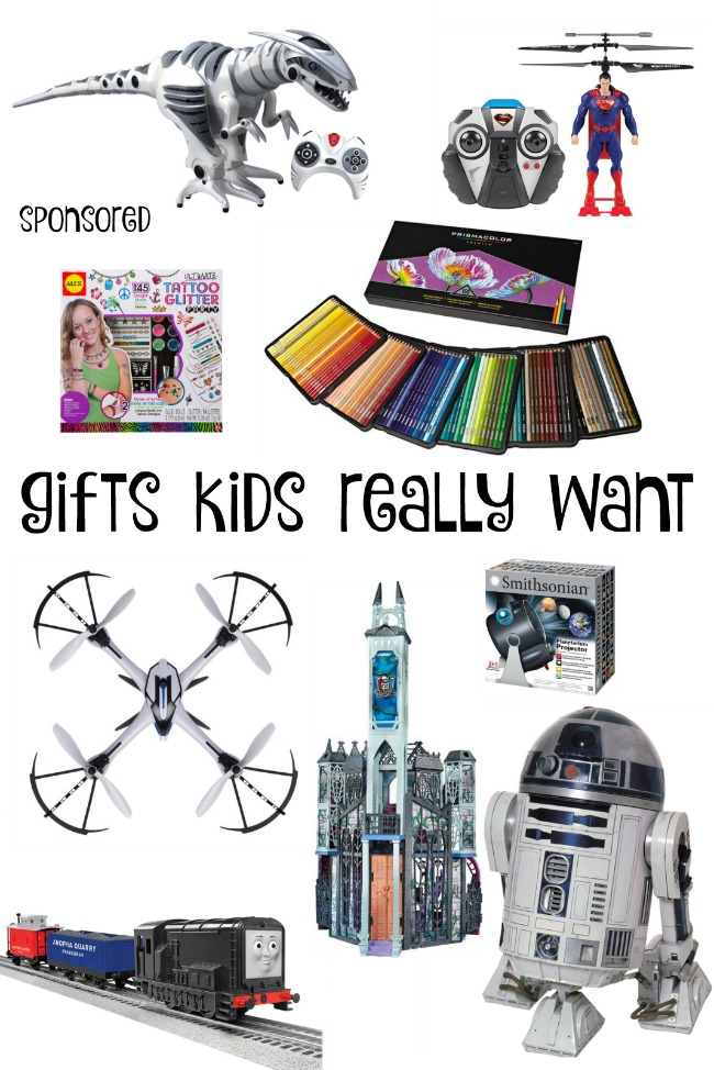 Gifts Kids Really Want