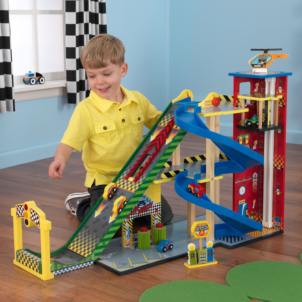 Gift for kids - garage set