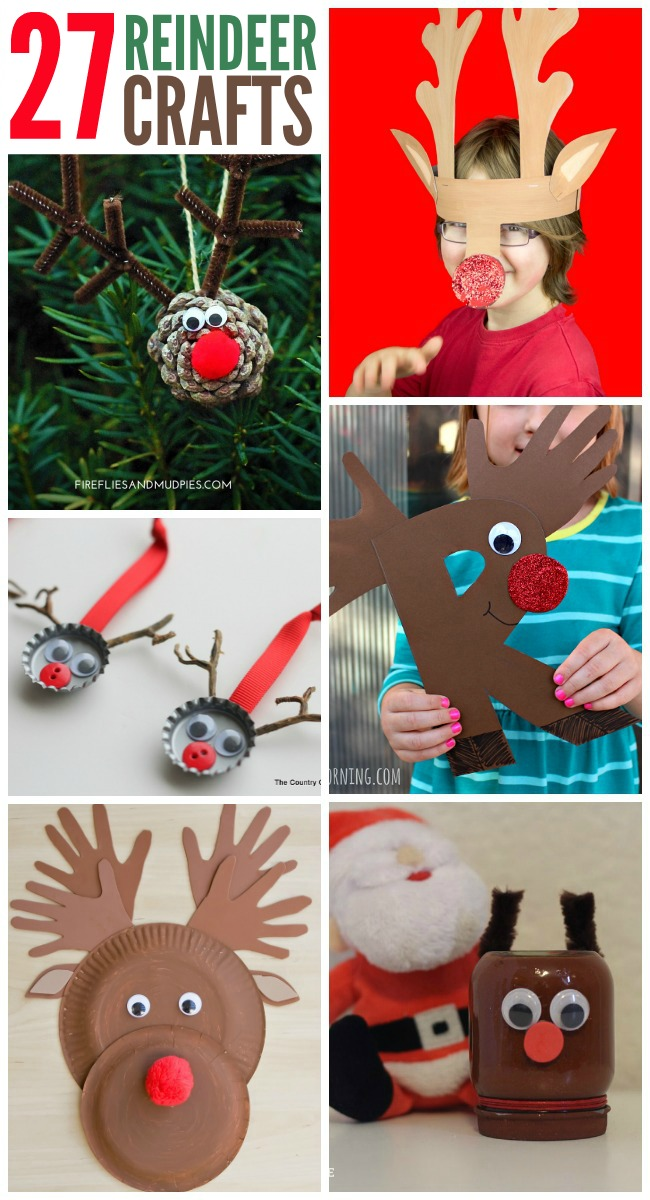 27 Adorable Reindeer Crafts To Make