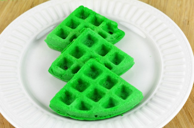 christmas tree waffles step3