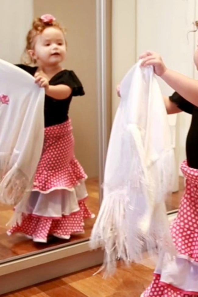 Two-Year-Old Practicing Flamenco Dancing Is As Darling As It Gets!