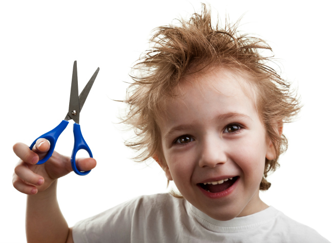 kids running with scissors