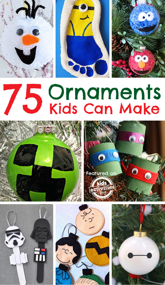 Character Ornament crafts for kids