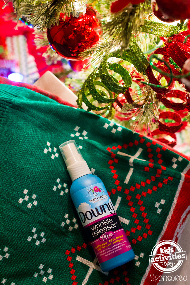 Downy Wrinkle Releaser Plus at Christmas