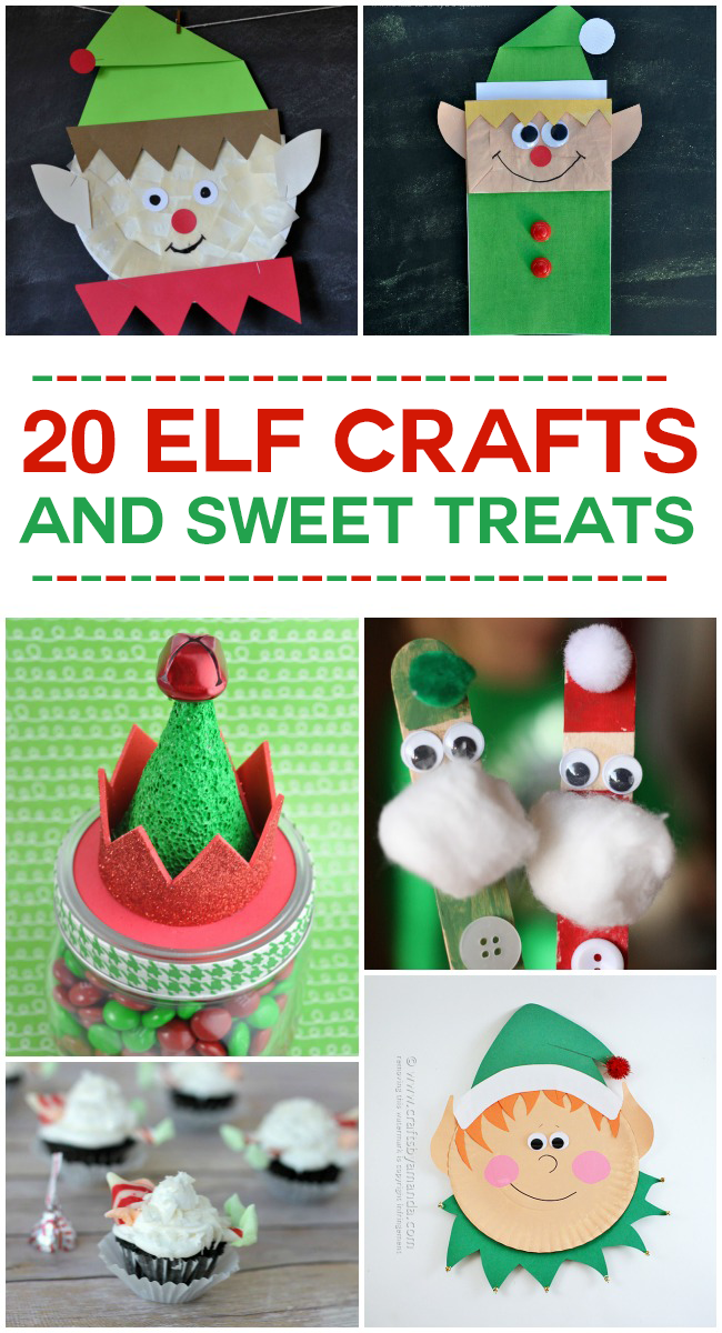 20 elf crafts and sweet treats