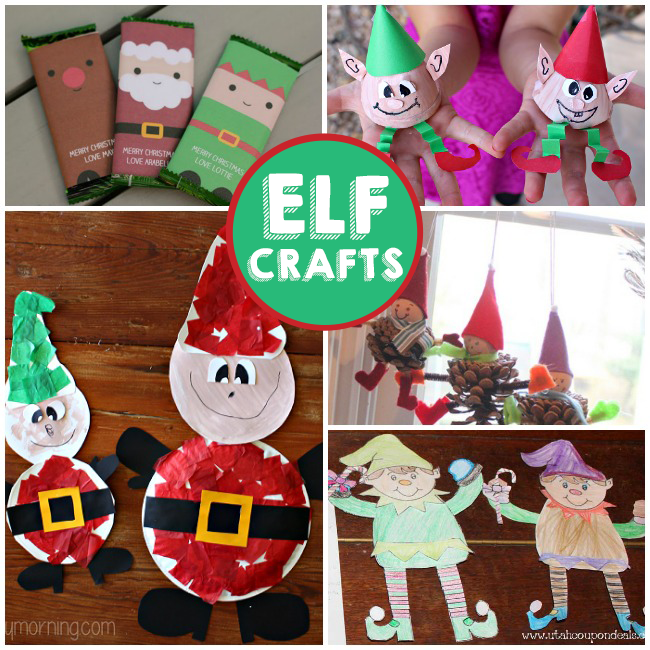 elf crafts for preschoolers