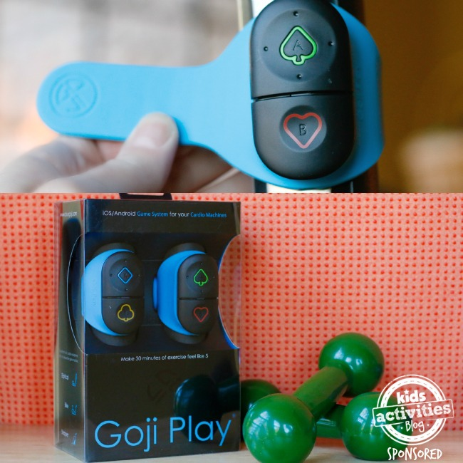 Goji Play controller and box