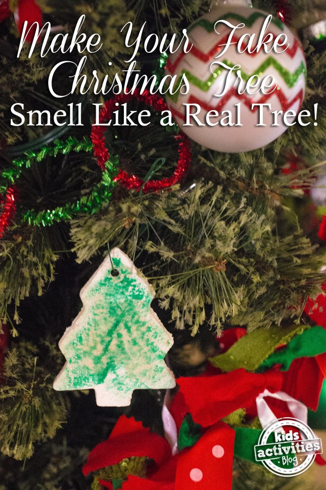Make Your Fake Christmas Tree Smell Like a Real Tree