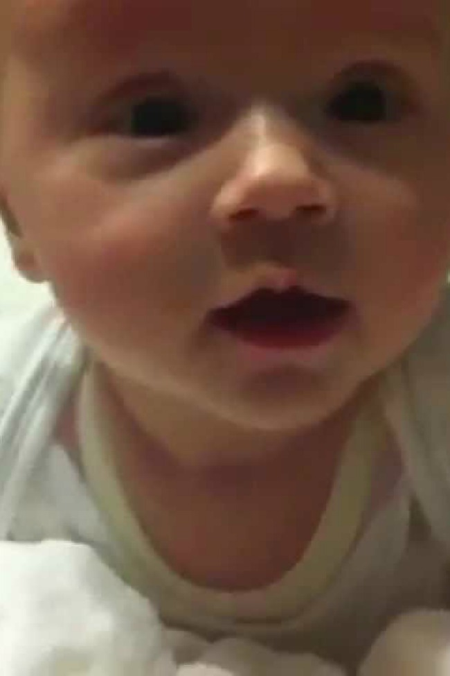 Baby Turns Sinister When Left Home Alone With Dad…