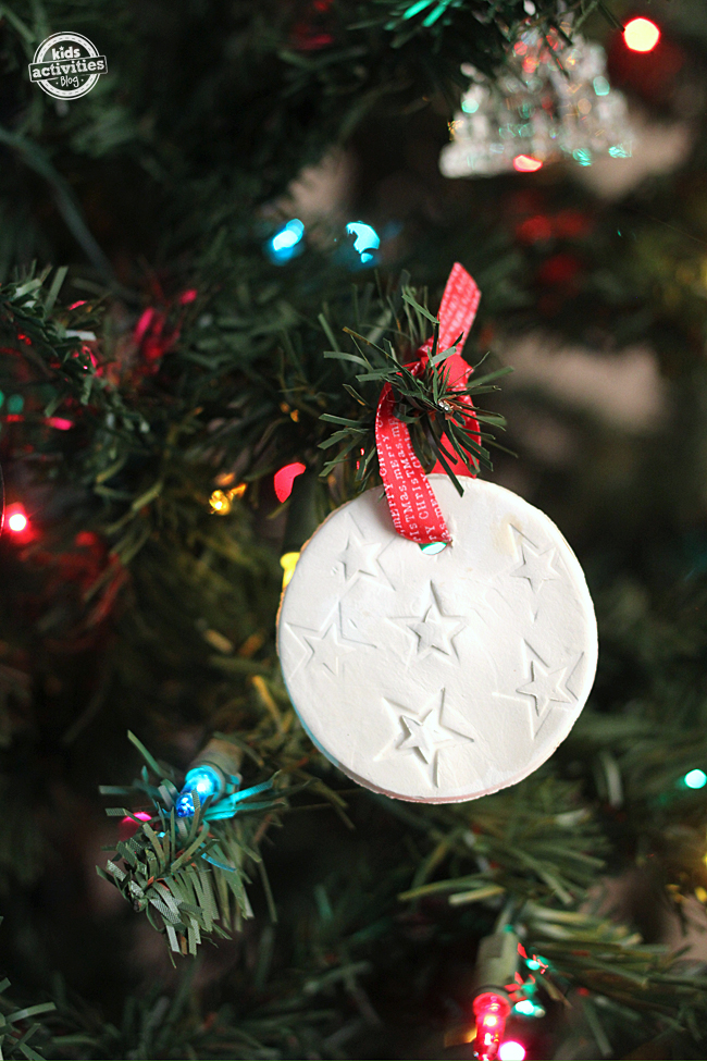 Christmas Scented Clay Ornament Craft