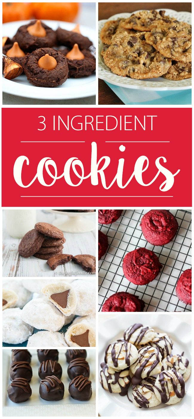 25 Best 3 Ingredient Cookie Recipes To Make Together Kids Activities Blog