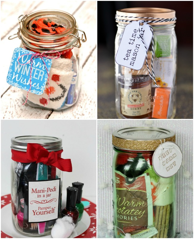 15 DIY Gifts In A Jar