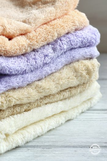 A Simple Way To Freshen Your Towels