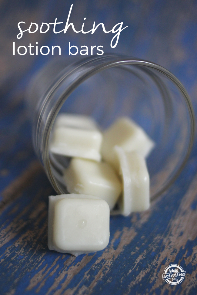 Homemade Soothing Lotion Bars With Essential Oils