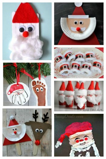 20 Fun Santa Crafts