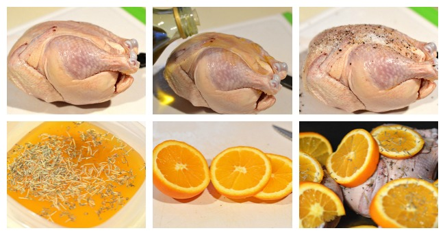 Crockpot Cornish Game Hen steps