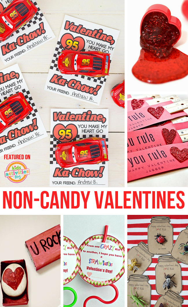 Non Candy Valentines for School