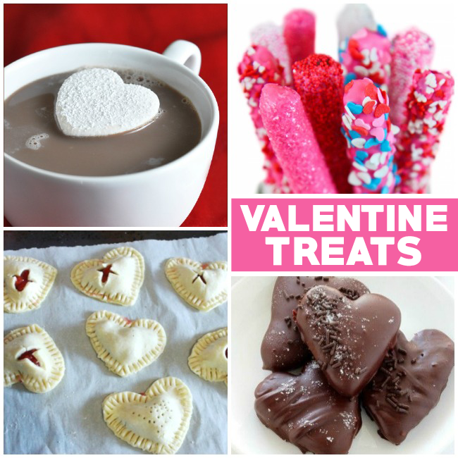 25+ Sweet Valentine's Day Treats