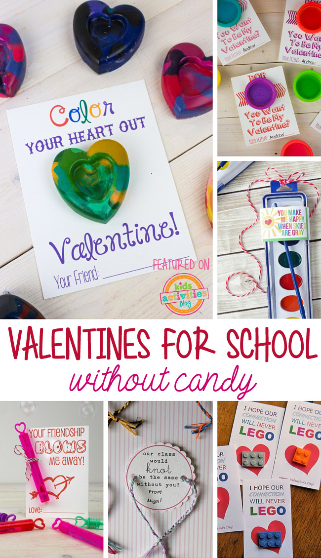 Kids Valentines For School Without Candy