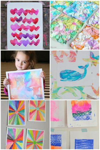 21 Kids Art Projects That Are Wall Worthy