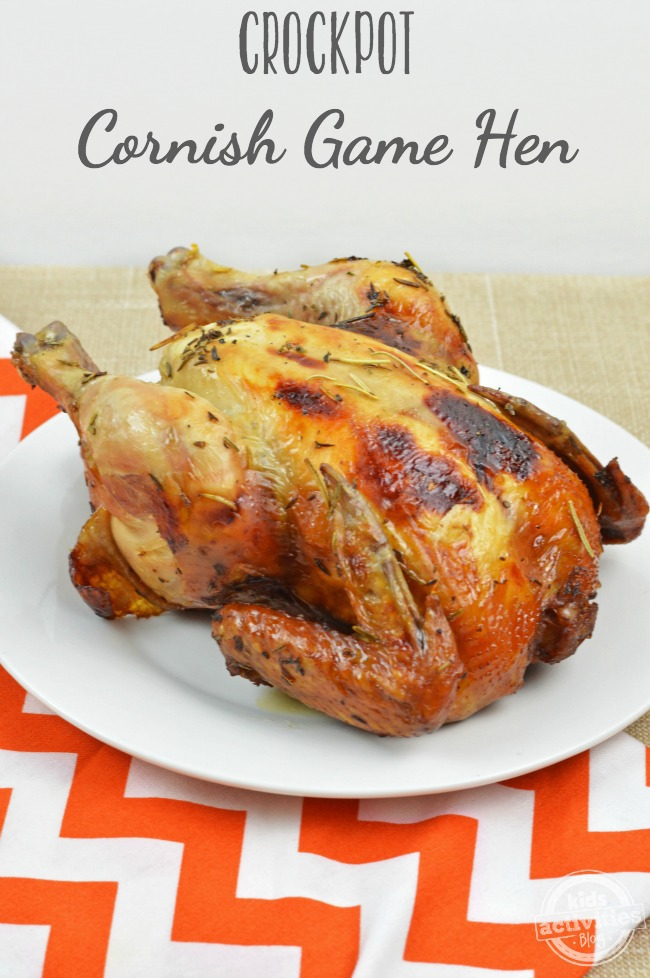 crockpot cornish game hen