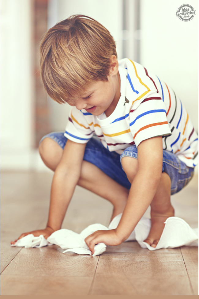 Let Your Child Do It! Teaching Responsibility