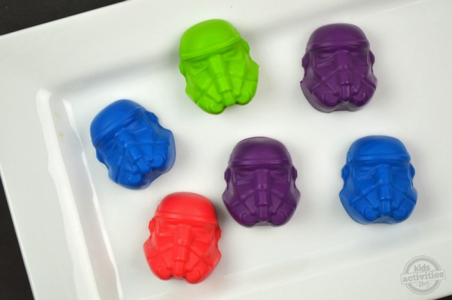 Homemade Stormtrooper Bath Soap Crayons3