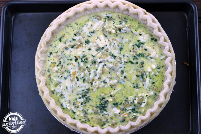 Kids First Quiche
