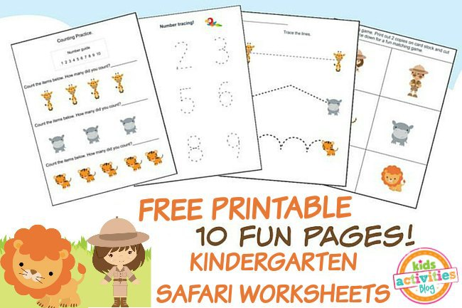 Printable Kindergarten Worksheet