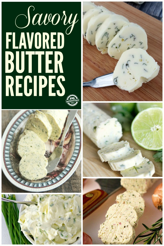 Savory Flavored Butter Recipes