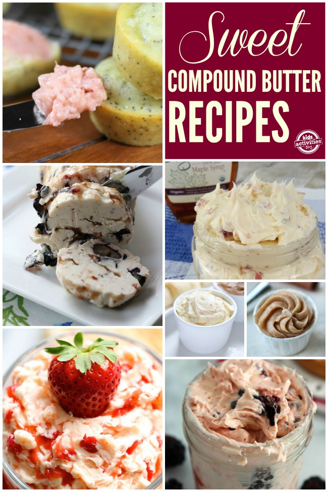 Sweet Compound Butter Recipes