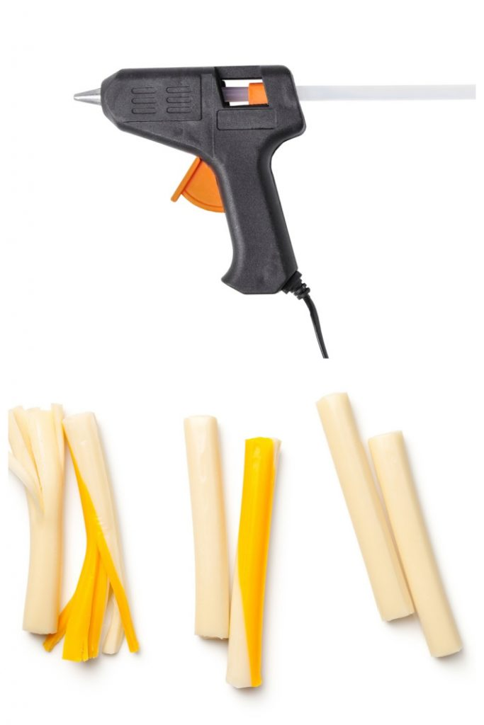What happens when you put cheese in a glue gun - Kids Activities Blog