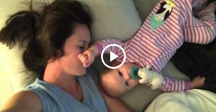 baby won't let mom sleep