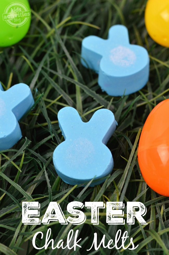 Easter Chalk Melts